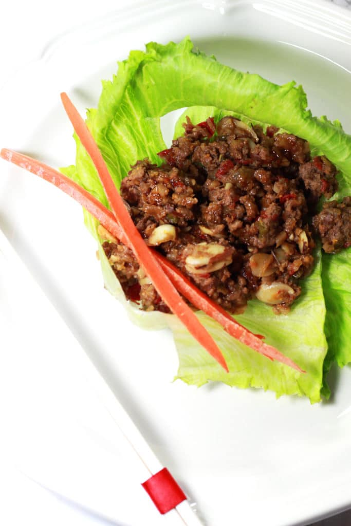Asian Lettuce Wraps 1
