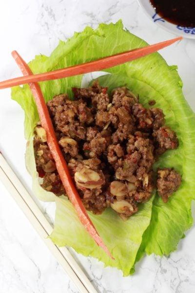 """Biggest Loser"" Asian Lettuce Wraps"