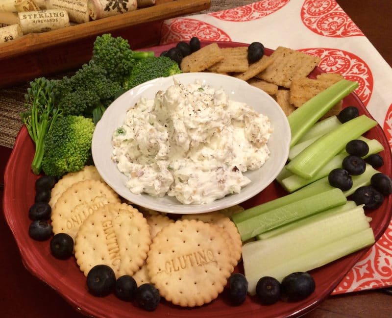 Herbed Cream Cheese and Walnut Spread