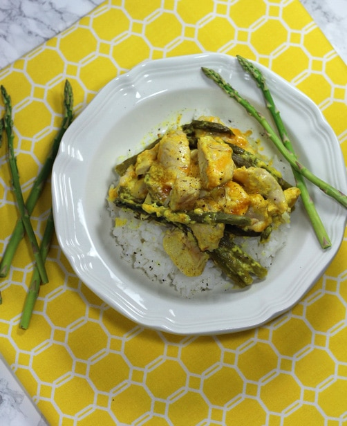 Curry Asparagus Chicken copy