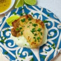 Baked Chicken with Dijon Lime Sauce