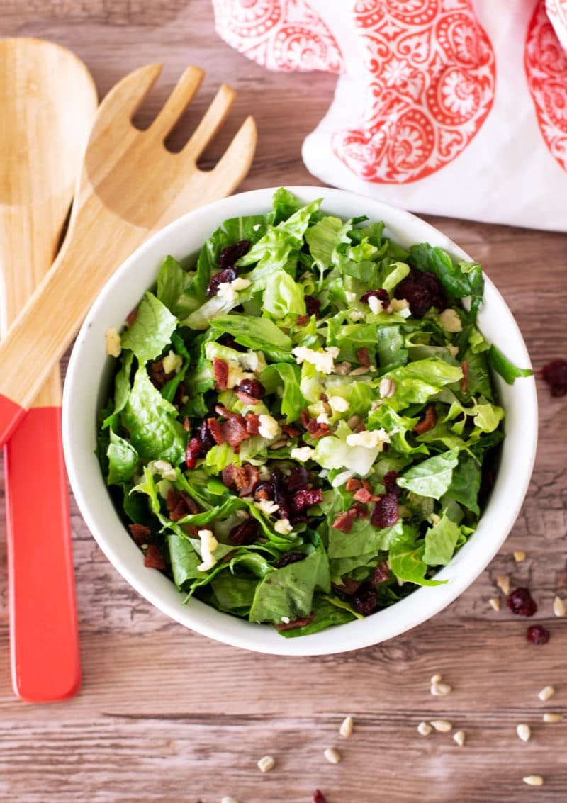 Romaine Salad With Vinaigrette Dressing Recipes Worth Repeating