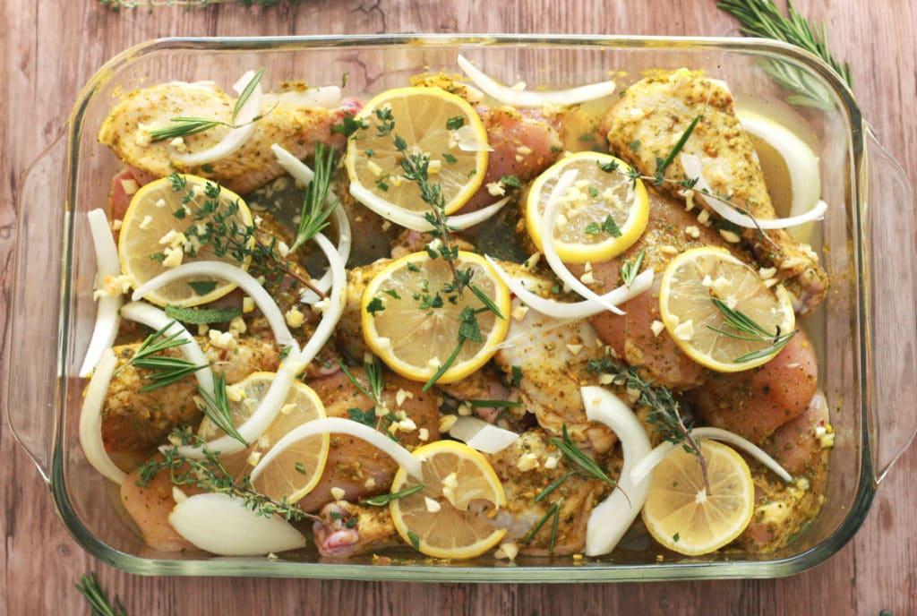 Roasted Chicken Fresh Herbs