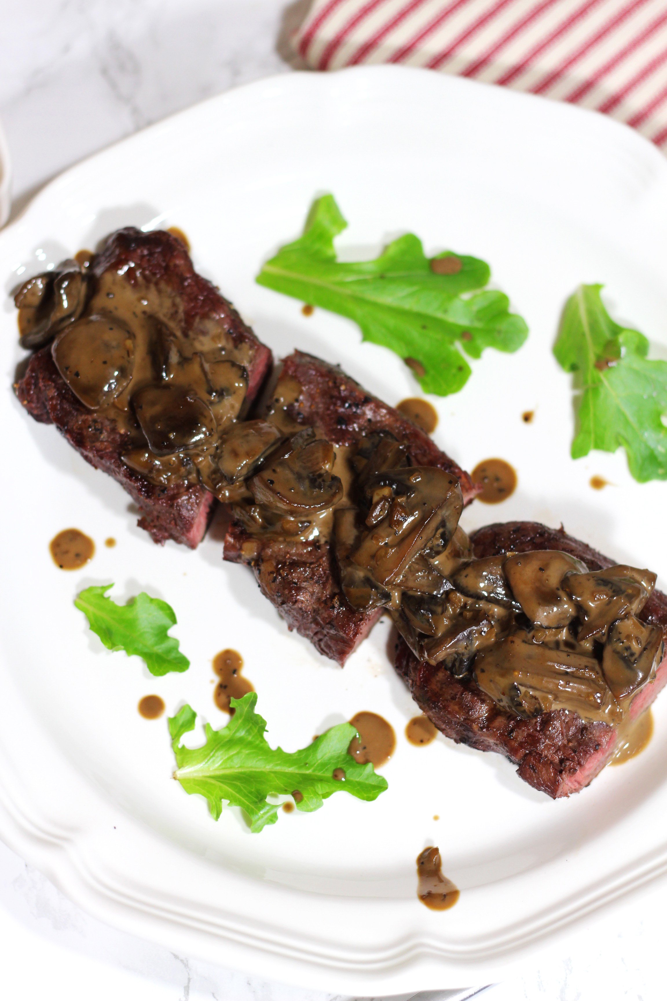 how to cook mushroom sauce for steak