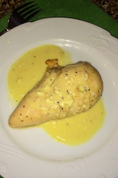 Lemon Pepper Chicken with Lemon Sauce