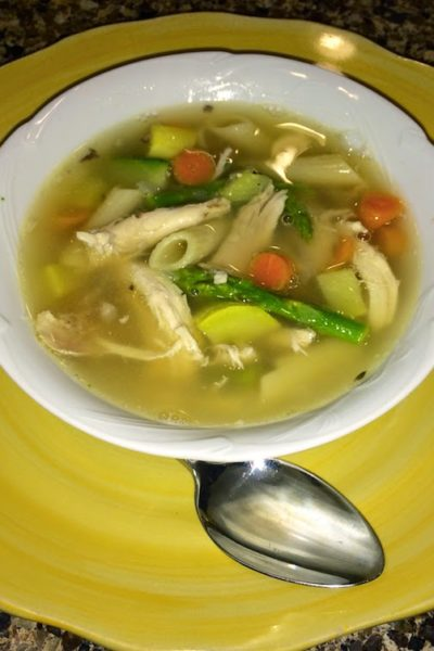 Very Veggie Chicken Noodle Soup