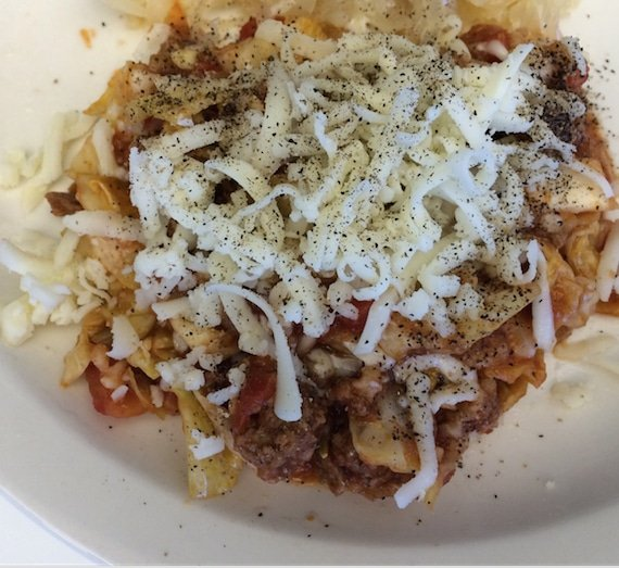 Crock Pot Cabbage Roll Casserole