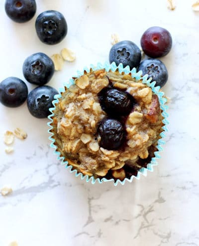 Baked Oatmeal Cupcakes