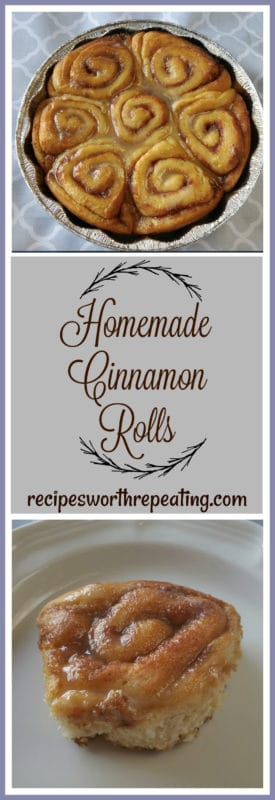 Perfect for breakfast, brunch, snack or dessert...these Homemade Cinnamon Roles are a crowd pleaser! Soft, fluffy and gooey...this will easily become your most favorite cinnamon roll recipe ever!