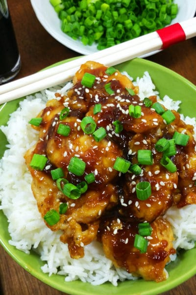 Asian Sesame Chicken