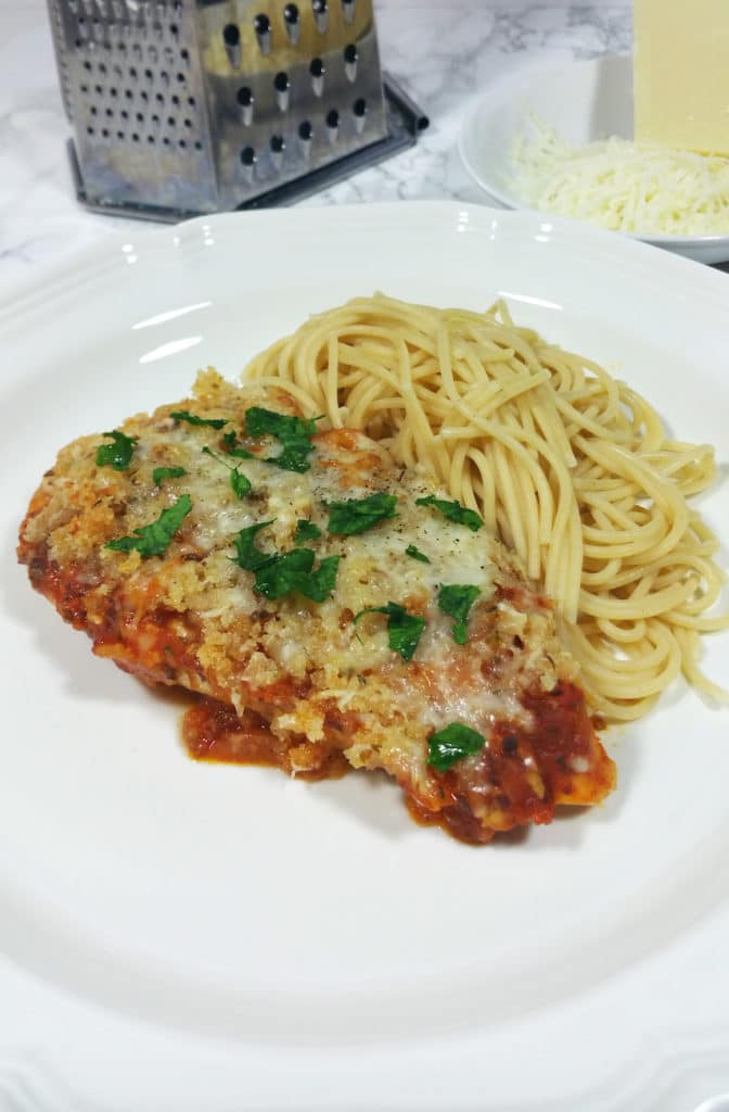 Chicken and Mozarella bake 6