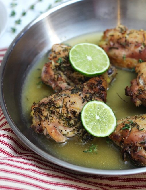 Lemon Thyme Chicken with Rosemary5