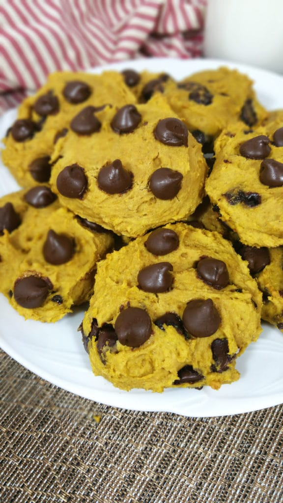 Pumpkin Chocolate Chip Cookies 10