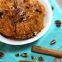 Autumn Spiced Sweet Mashed Potatoes