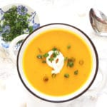 Hubbard Squash Soup Gluten Free Fall Recipe