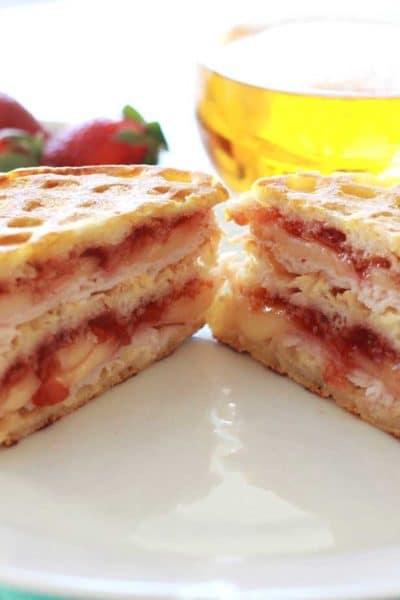 Monte Cristo Breakfast Sandwich