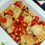 Moroccan Skillet Chicken with Quinoa Gluten Free