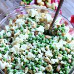 Cauliflower, Cashew and Pea Salad