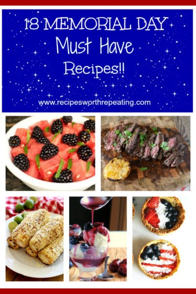 18 Memorial Day Must Have Recipes