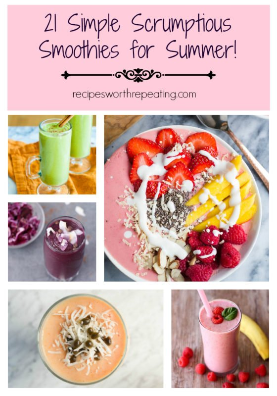 21 of the best smoothies to cool off your hot summer!