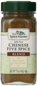 Jar of Chinese Five Spice blend.