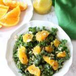 Naval Orange and Kale Salad
