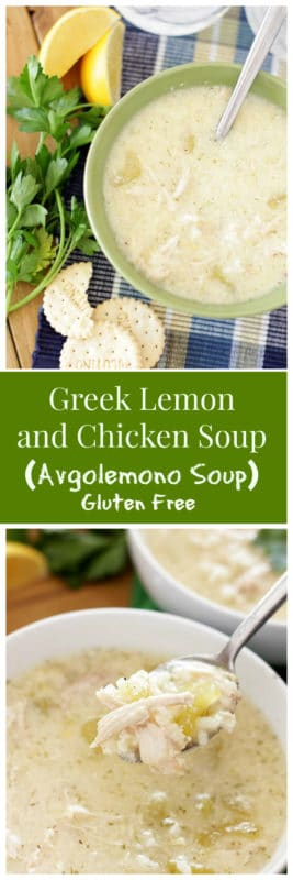 Incredibly tasty and flavorful, this Greek Lemon and Chicken Soup is perfect for cozying up with during the cold winter days!