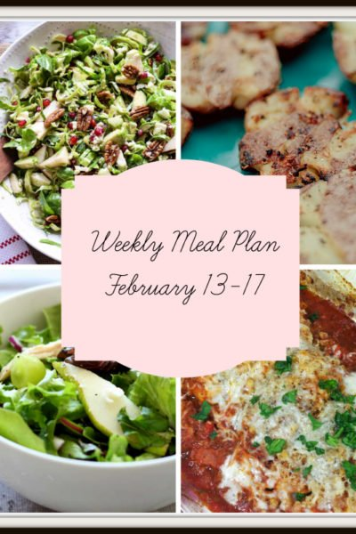 Meal Plan: Week of February 13-17