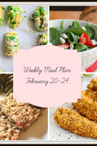 Meal Plan: Week of February 20-24