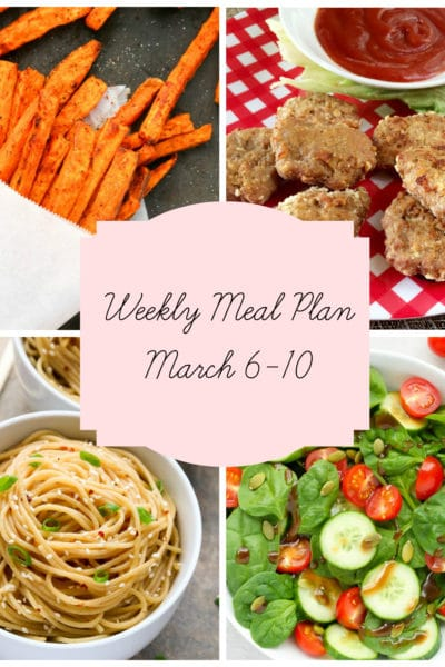 A Week of 5 Kid Approved Dinners: Meal Plan Week of March 6-10