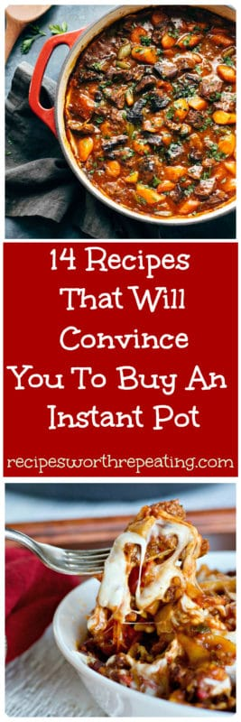 If you haven't jumped on the Instant Pot bandwagon yet, you are missing out! And I'm going to tell you why. I've got 14 Instant Pot recipes that are beyond delicious, super easy to make and will speed up your prep and cook time like never before!