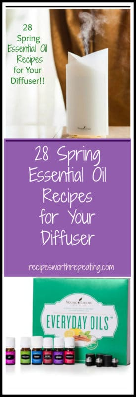 A diffuser diffusing Young Living Essential Oils. Everyday Oils featured in the Premium Starter Kit.