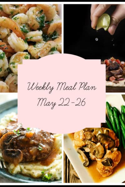 5 Instant Pot Dinners: Meal Plan Week of May 22-26