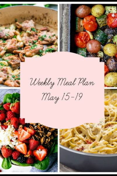 Hand Picked Dinners From 2 Kids and a Husband: Meal Plan Week of May 15-19