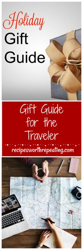 If you're looking for the perfect thing to buy for that traveler on your Christmas list, then you're going to love these gift ideas! This holiday gift guide for the traveler will give you ideas for those travelers on your list that they can take around the world that will come in handy when traveling internationally!
