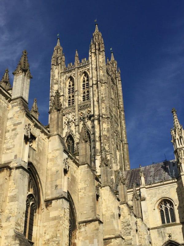 Canterbury Cathedral in Canterbury, UK.