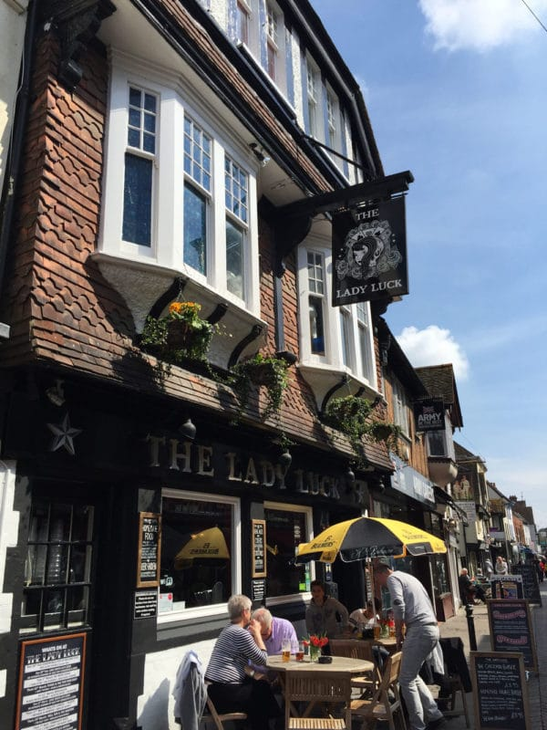 The Lady Luck in Canterbury UK.