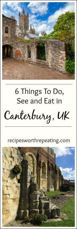 Canterbury Cathedral in Canterbury UK