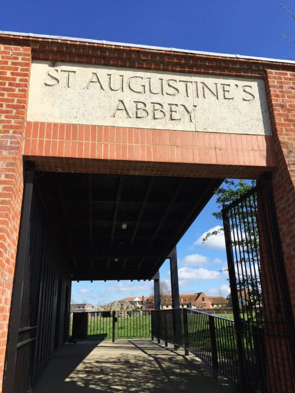 St. Augustine's Abbey in Canterbury, UK.