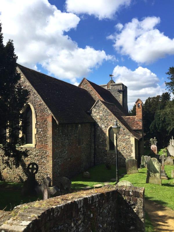Martin's Church in Canterbury, UK.