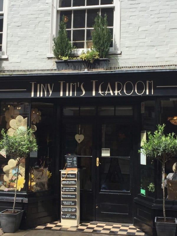 Tiny Tim's Tearoom in Canterbury UK.