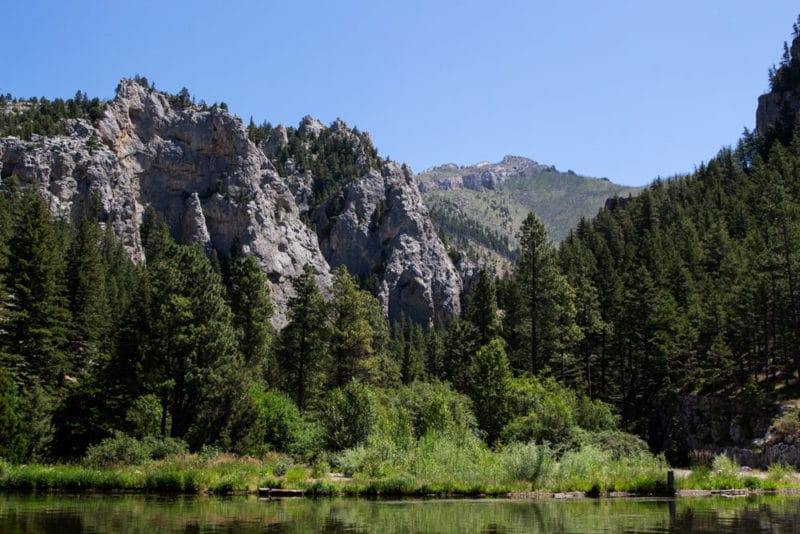 Gates of the Mountains Mann Gulch Fire Range.