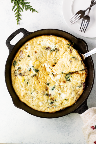 Hearty Spinach Frittata