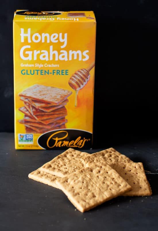 Box of Pamela's Gluten Free Honey Graham Crackers.