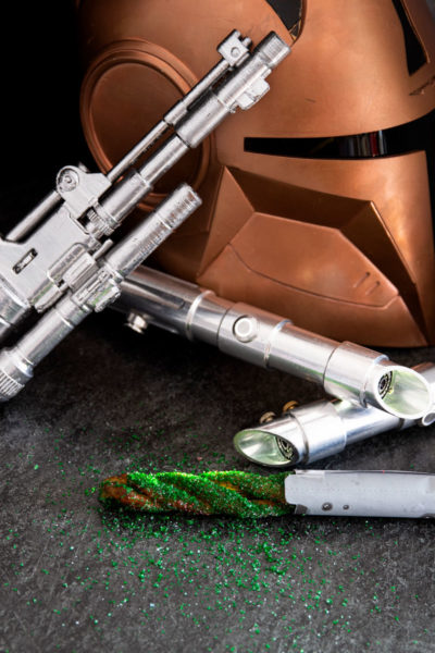 Star Wars Lightsaber Cinnamon Twist Churros